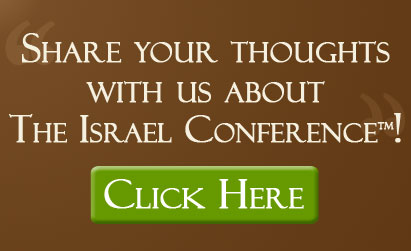 Share your thoughts about The Israel Conference!